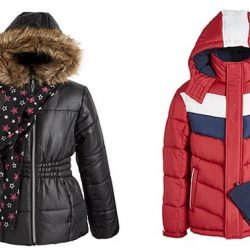 Kid's Puffer Coats Only $15.99