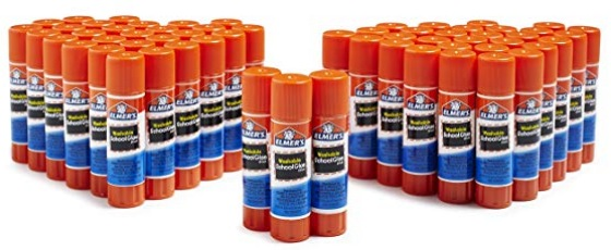 Elmer's All Purpose Washable School Glue Sticks