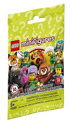 LEGO Minifigures 71025 Series 19 Building Kit