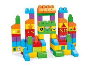 Mega Bloks Building Basics Let's Get Learning 150-Piece Set