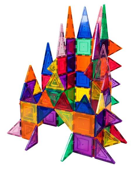 101-Piece 3D Magnetic Building Tile Play Set