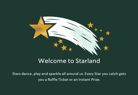 Starbucks Starland Instant Win Game (Over 2 million winners!)