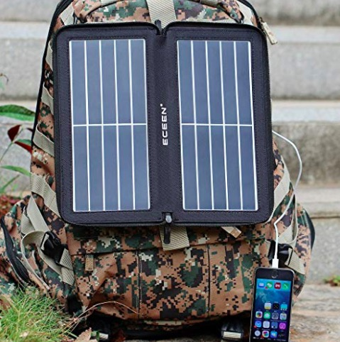 Solar Phone Charger Outdoor Gift Idea