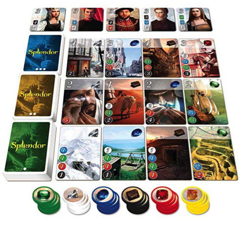 Board Game Gifts: Splendor Game