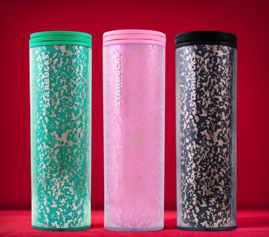 Starbucks Black Friday Gold-Foiled Tumblers