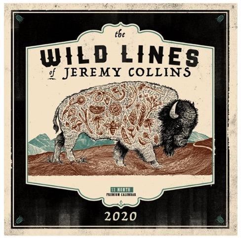 Wild Lines Calendar 2020
