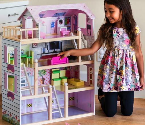 Wooden Dollhouse Deal