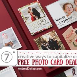 free photo card deals