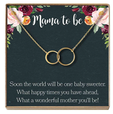 mama to be necklace gift idea
