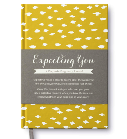 pregnancy journal gift ideas for expecting mothers