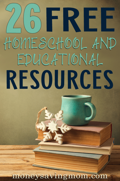 26 Free Homeschool Curriculum Resources