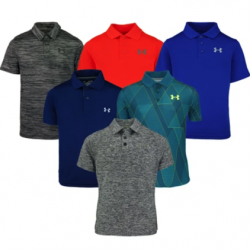 Boy's Under Armour Polo Shirts