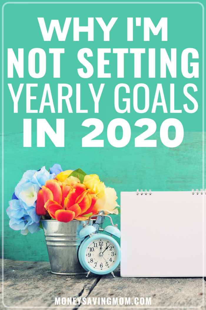 Setting Yearly Goals