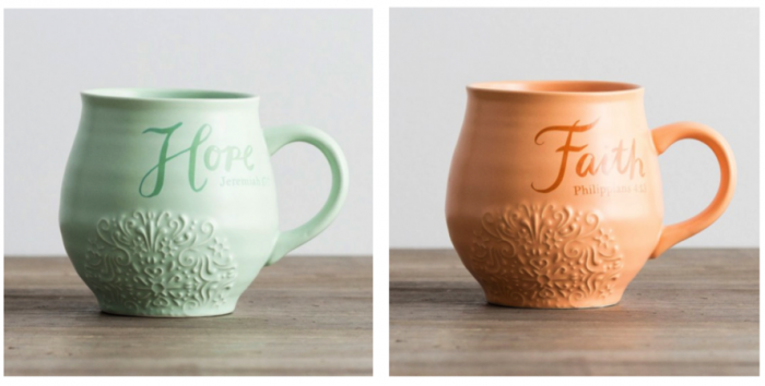 Hope Faith DaySpring Mugs