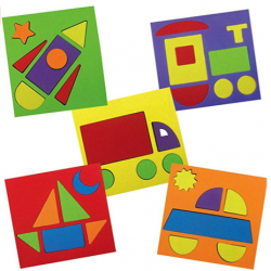 Imagimake Make With Shapes Activity