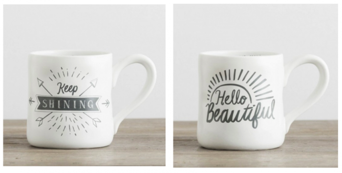 Keep Shining Beautiful DaySpring Mugs