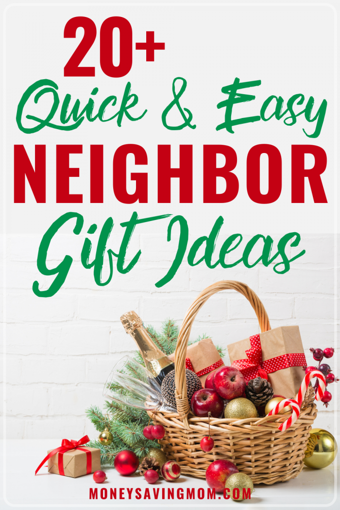 Best Gifts For Neighbors 20 Quick Easy Ideas Money Saving Mom Money Saving Mom
