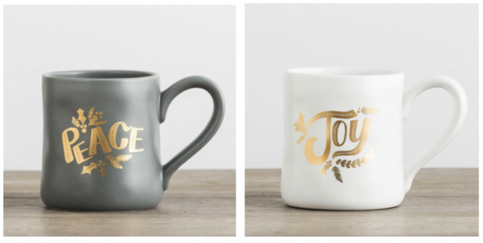 Peace Joy DaySpring MUgs