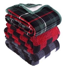 Sherpa Throw & Pillow Bundle