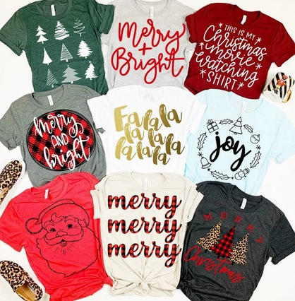 Holiday Style Graphic Tees