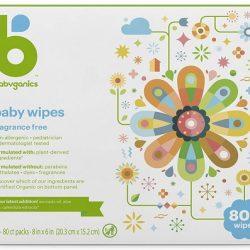 Babyganics Baby Wipes, Unscented
