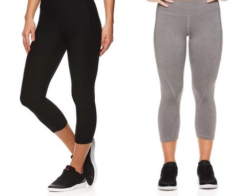 Reebok Women's Quick Capri Seamed Leggings