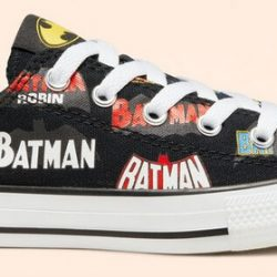 50% Off Converse Batman Chuck Taylor Shoes For The Family + Free Shipping