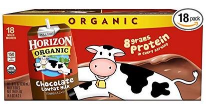 Horizon Organic Chocolate Milk Cartons 18-Pack Just $13 Shipped at Amazon