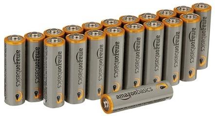 Amazon: AmazonBasics AAA Alkaline Batteries 20-Pack – Only $4.22