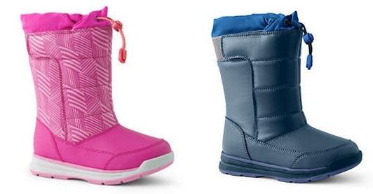 Kids Snow Flurry Winter Boots