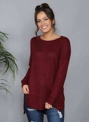 Heathered So Soft Tunic