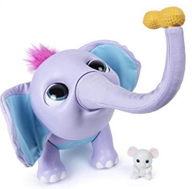 Wildluvs Juno My Baby Elephant with Interactive Moving Trunk