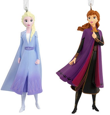 2-Pack Hallmark Disney Ornaments