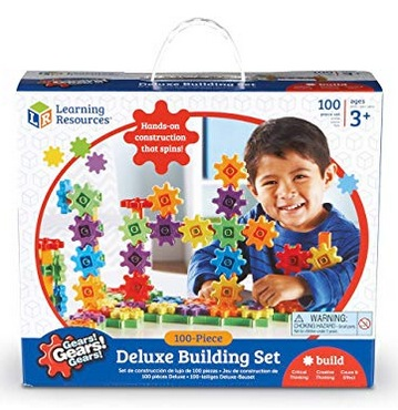 Learning Resources Gears! 100 Piece Deluxe Building Set