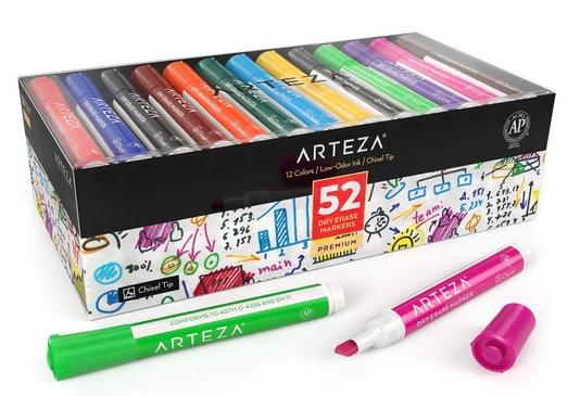 ARTEZA Dry Erase Markers, Bulk Pack
