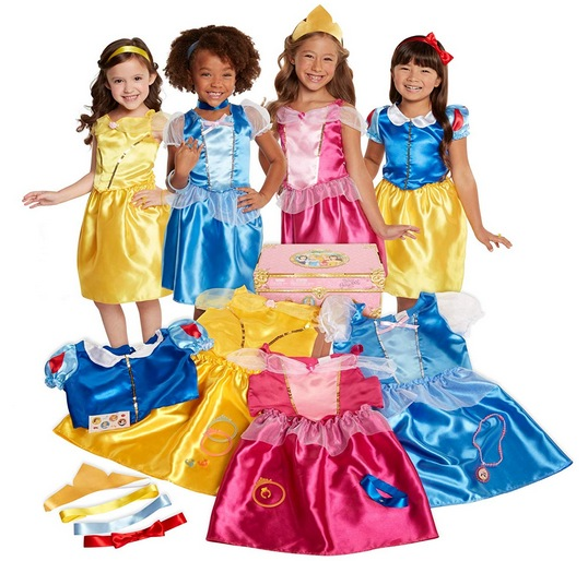 Disney Princess Dress Up Trunk Deluxe 21Piece