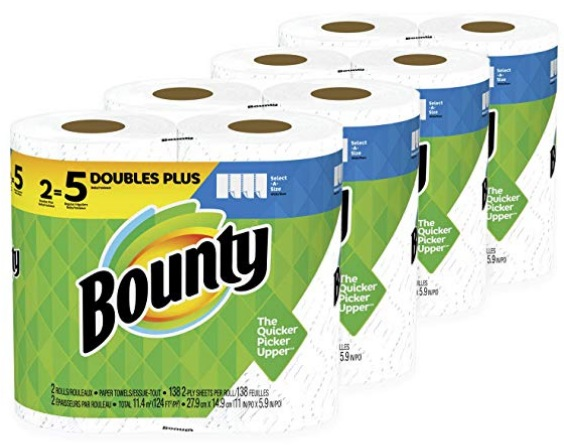 24 HUGE Rolls of Bounty Select-A-Size Paper Towels