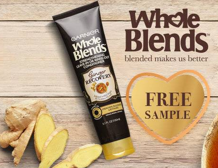 FREE Sample of Garnier Ginger Recovery Treatment
