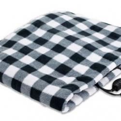 REKSAFE 12-Volt Heated Travel Blanket