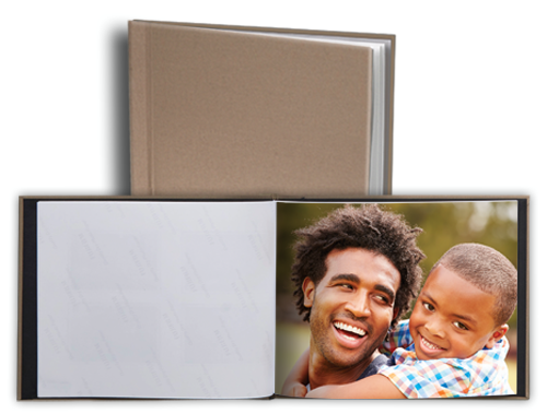 5×7 Custom Hard Cover Photo Book Only $4