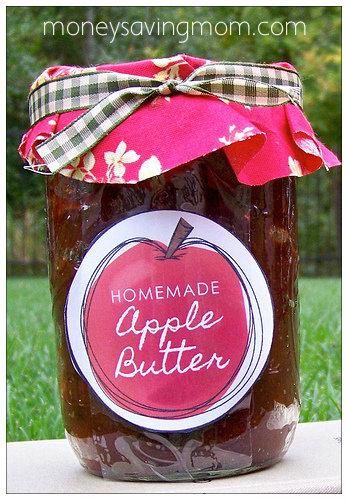 Best Neighbor Gifts: Apple Butter