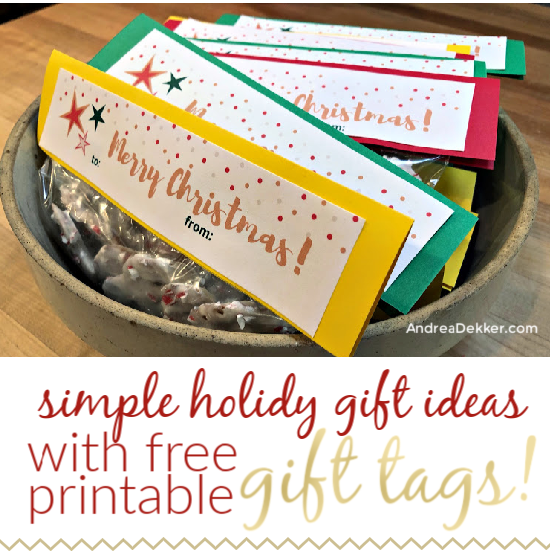 simple holiday gift idea