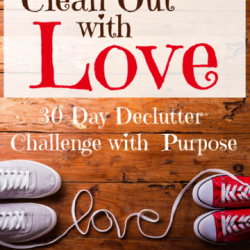 Clean Out With Love Decluttering Challenge