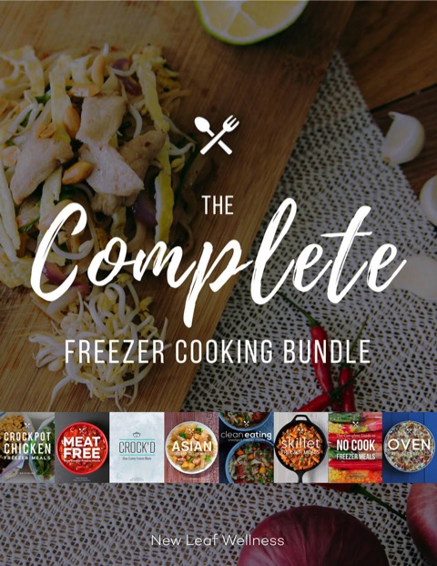 Complete Freezer Cooking Bundle