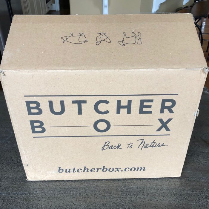 Butcher Box packaging