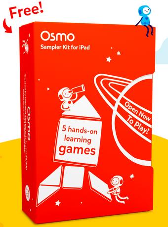 FREE Kids Osmo Sampler Kit for iPad