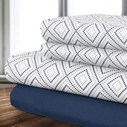 Stay Snug in 4-Piece Sheet Sets