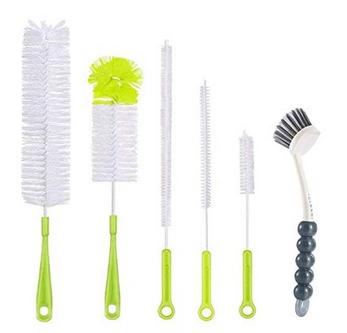6Pcs Bottle Cleaning Brush Set