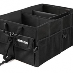 GOOLOO Car Trunk Organizer Storage Container