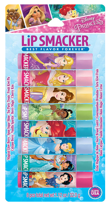 Lip Smacker Disney Princess (8 Count) Balm Party Pack